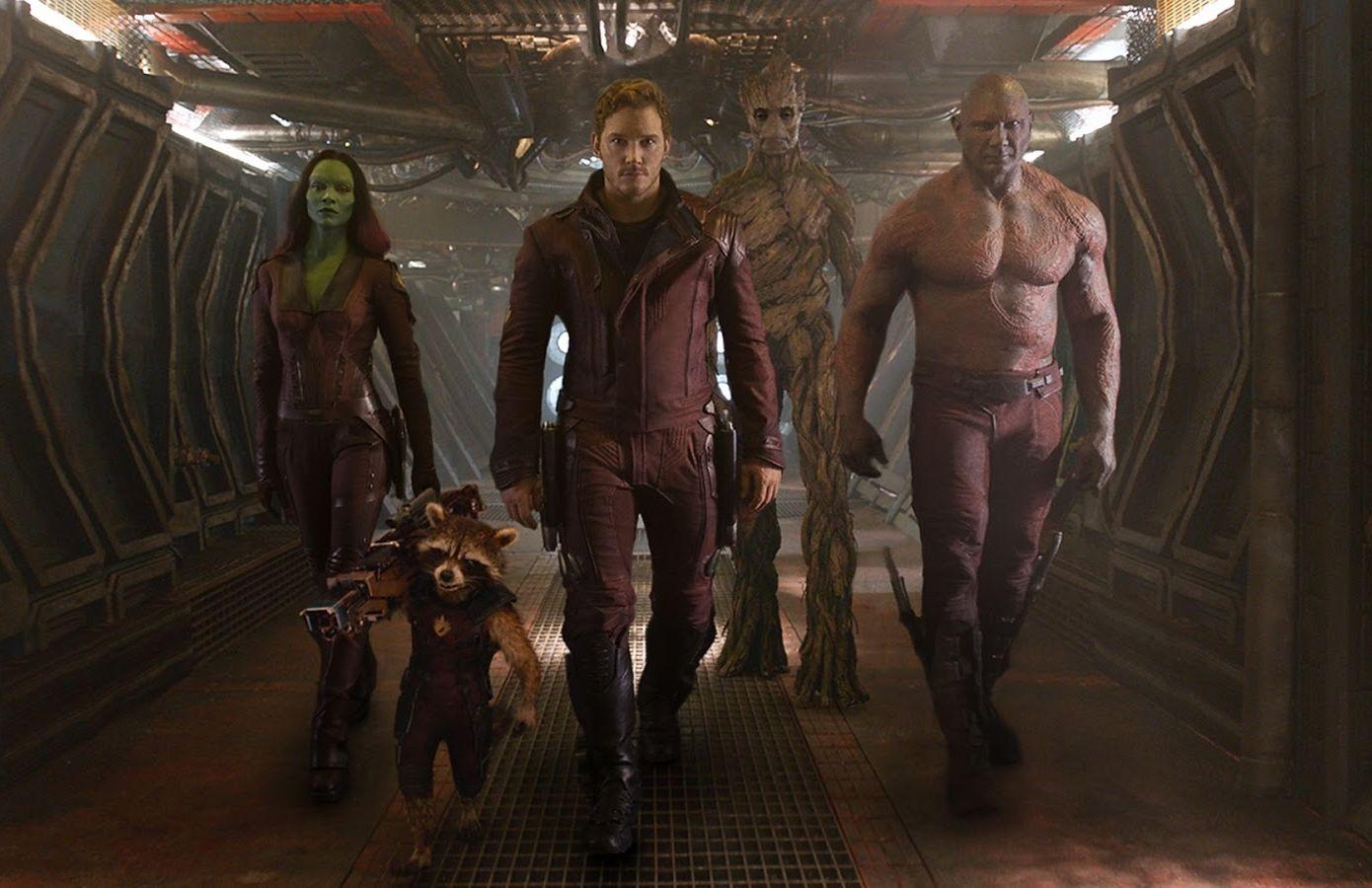 Guardians of the Galaxy: ecco Chris Pratt, Bradley Cooper, Zoe Saldana e gli altri guardiani