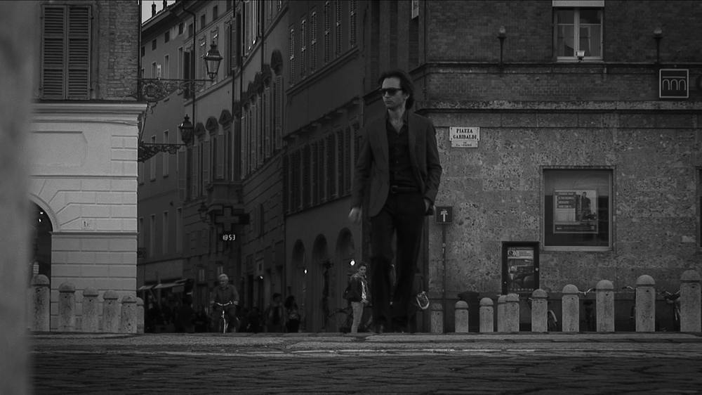 ll vincente: Luca Magri sul set del film da lui diretto e interpretato