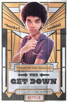 The Get Down: Justice Smith in un character poster per il personaggio di Ezekiel