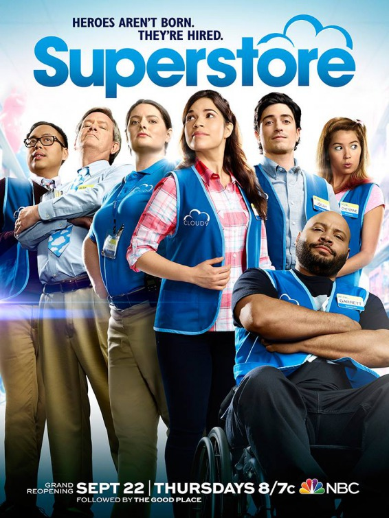 Superstore: la locandina della seconda stagione