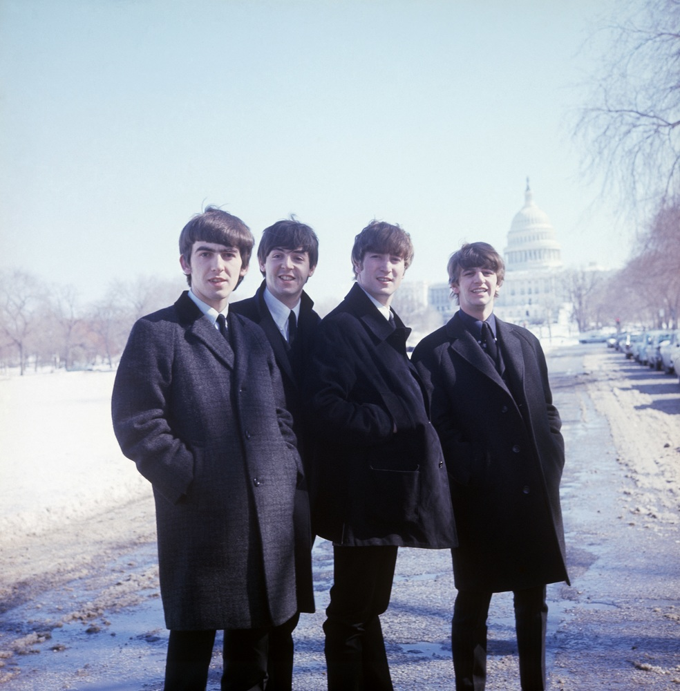 The Beatles: Eight Days a Week, un'immagine del documentario di Ron Howard che ritrae i Beatles