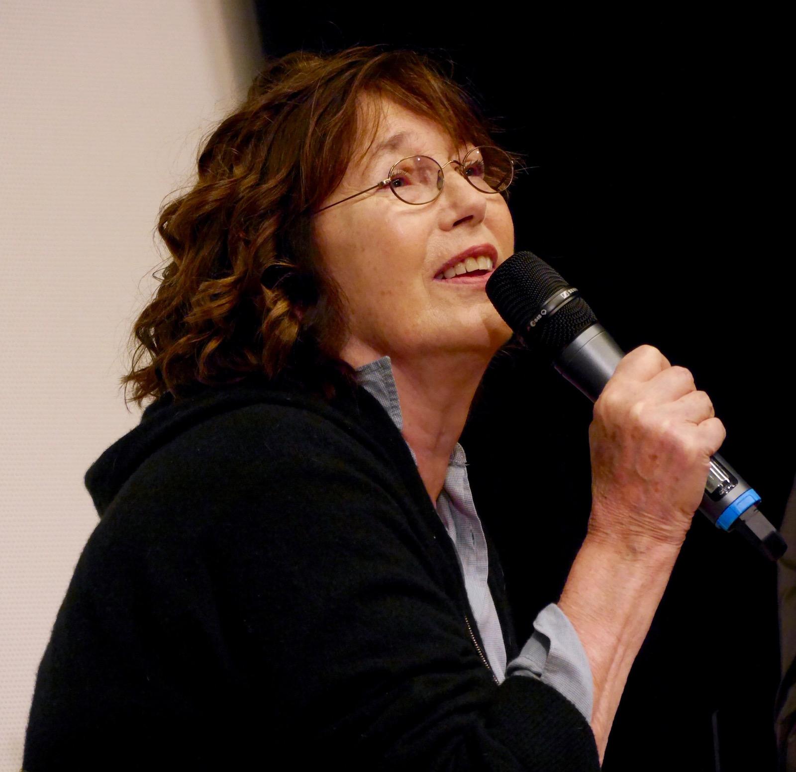 Jane Birkin incontra il pubblico a Locarno 2016