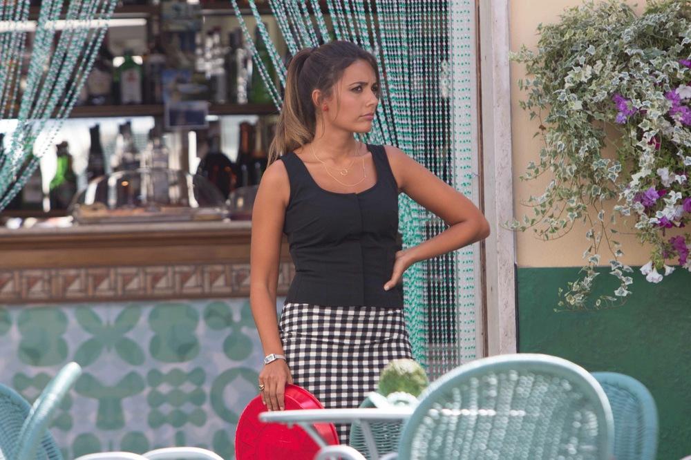 Al posto tuo: Serena Rossi in una scena del film