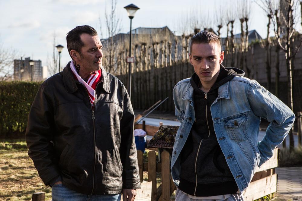 Caffè: Hichem Yacoubi e Arne De Tremerie in un momento del film