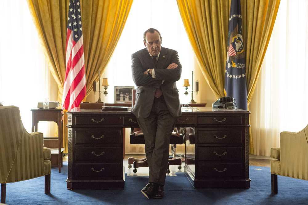 Elvis & Nixon: Kevin Spacey in una scena del film