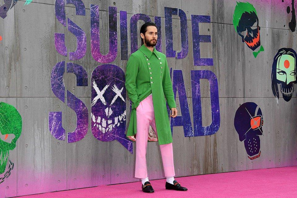 Jared Leto alla première di Suicide Squad