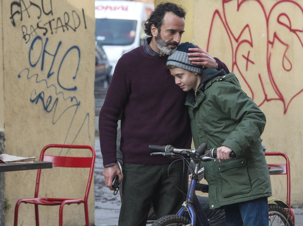 La vita possibile: Bruno Todeschini e Andrea Pittorino in una scena del film