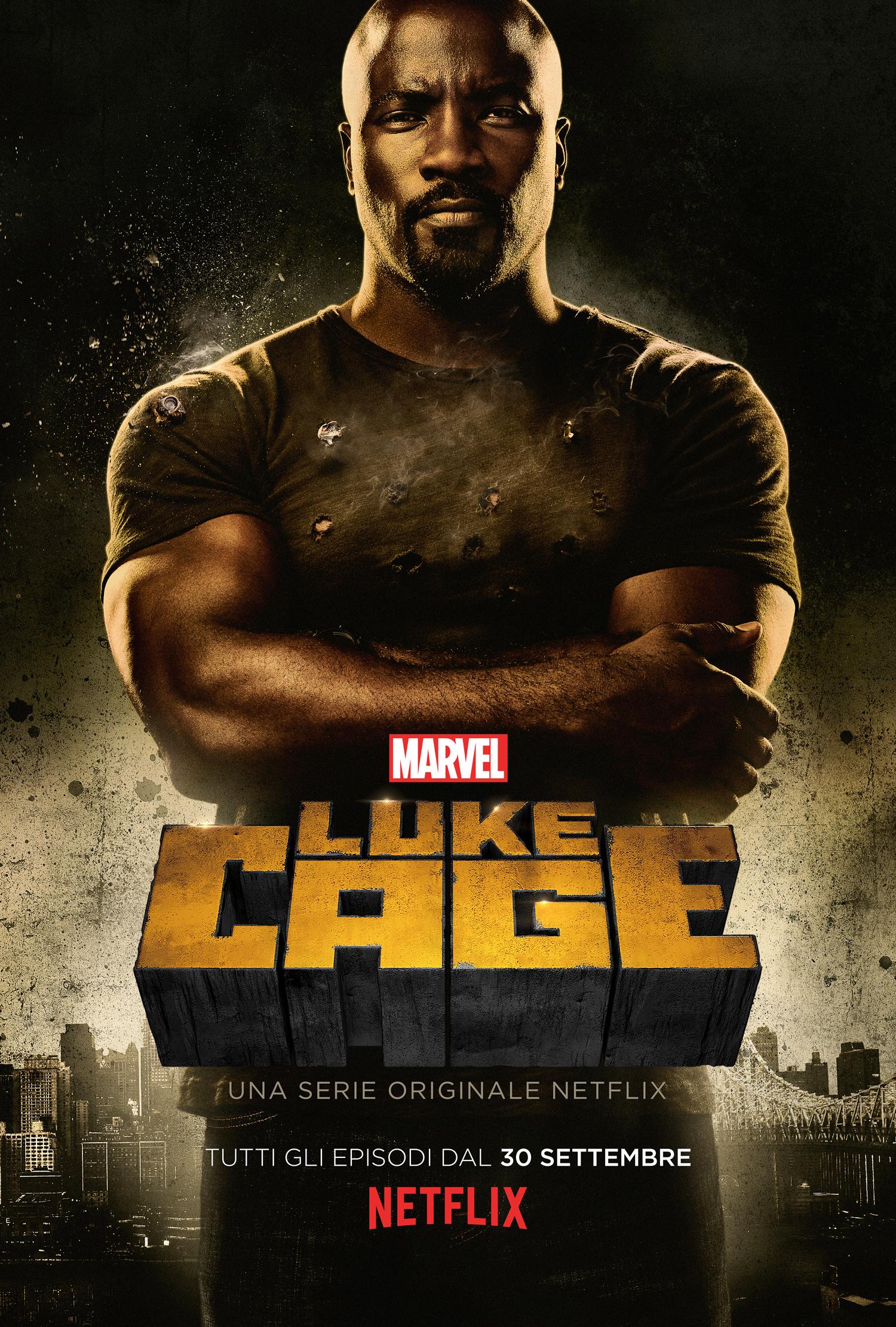 Luke Cage: il poster italiano della serie