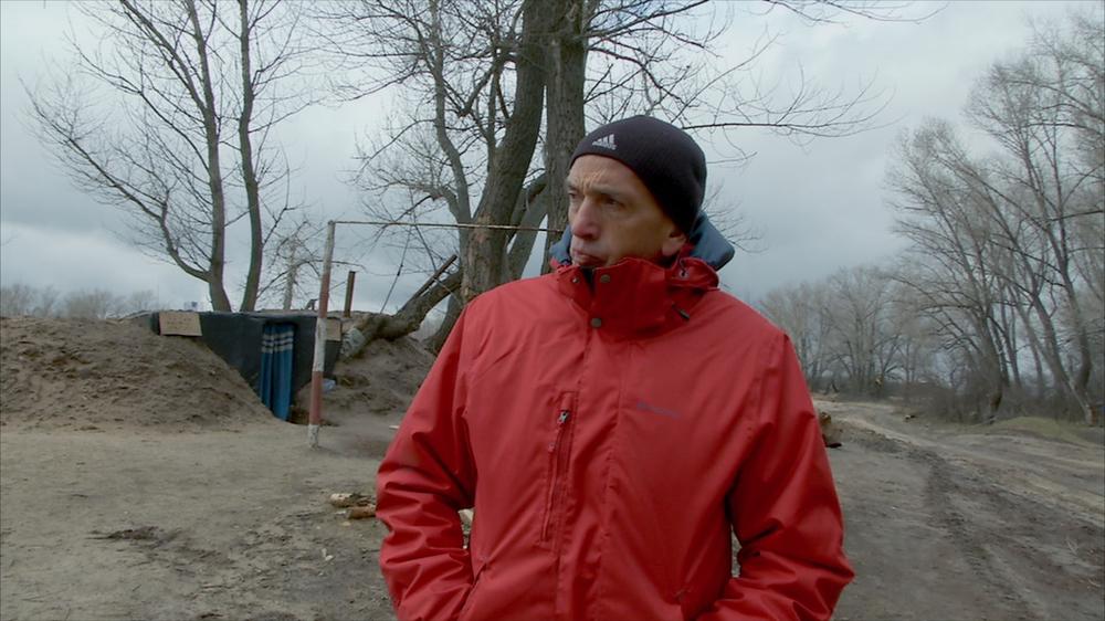 Ombre dal fondo: Domenico Quirico in un'immagine del documentario