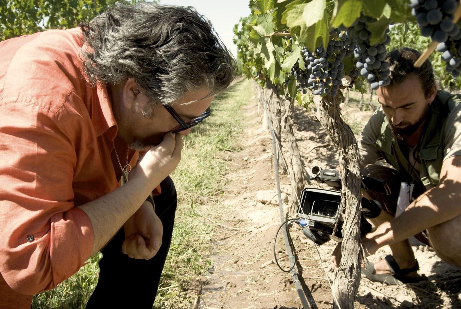 The Duel of Wine: Charlie Arturaola sul set del film