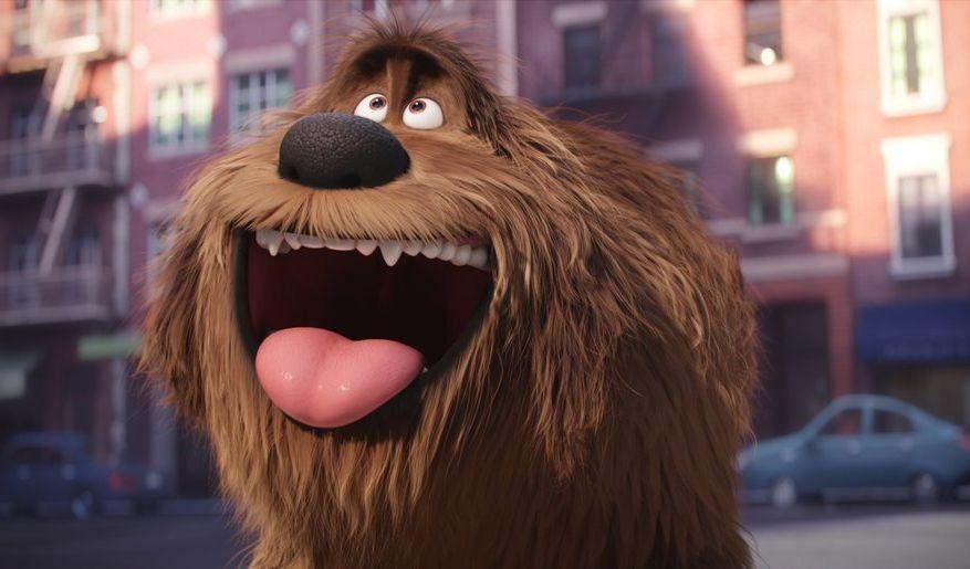 Pets - Vita da animali: una scena del film animato