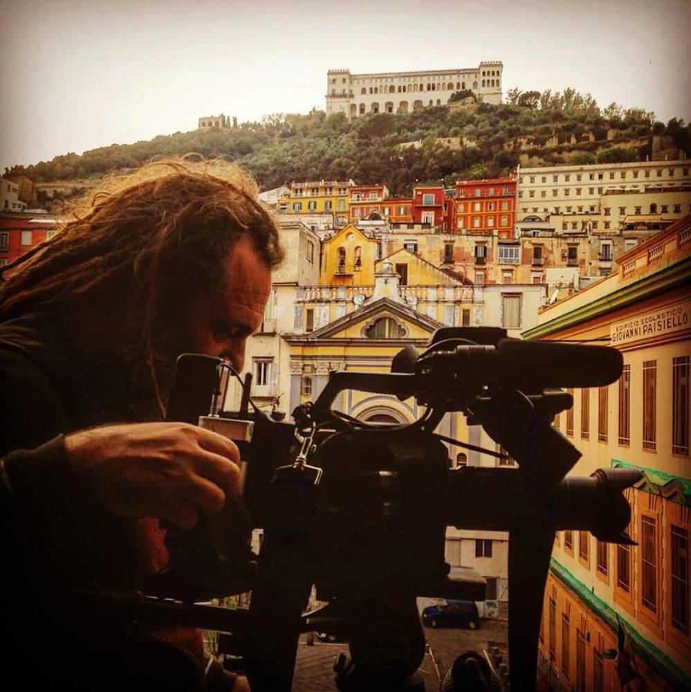 Robinù: un'immagine dal set del documentario