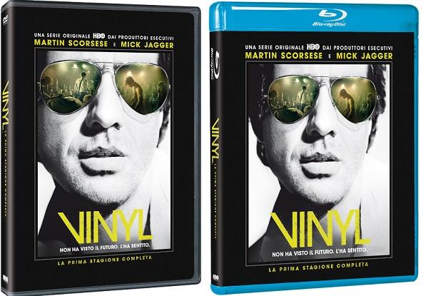 Le cover di Vinyl in homevideo