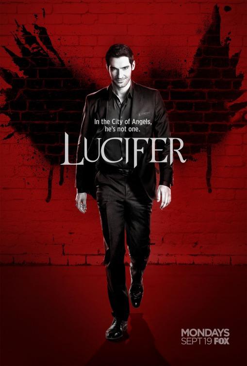 Lucifer: un manifesto per la seconda stagione della serie