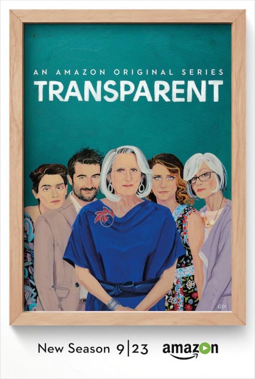 Transparent: la locandina della nuova stagione