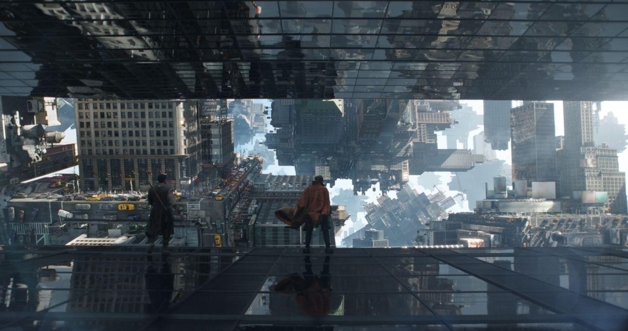Doctor Strange: una spettacolare foto del film