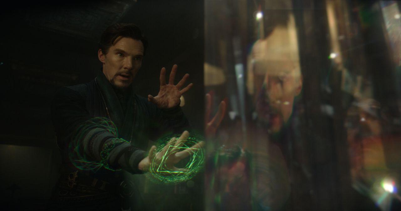 Doctor Strange: Benedict Cumberbatch in azione nel film