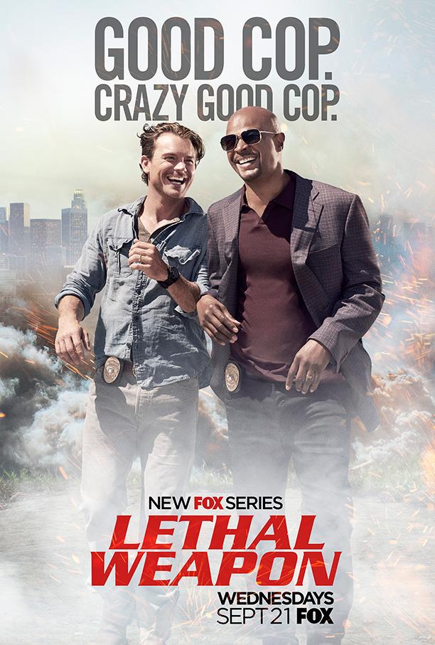 Lethal Weapon, il poster della serie TV