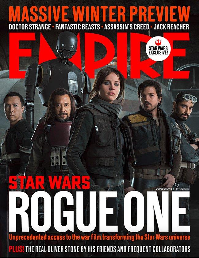 Rogue One: A Star Wars Story - La copertina di Empire