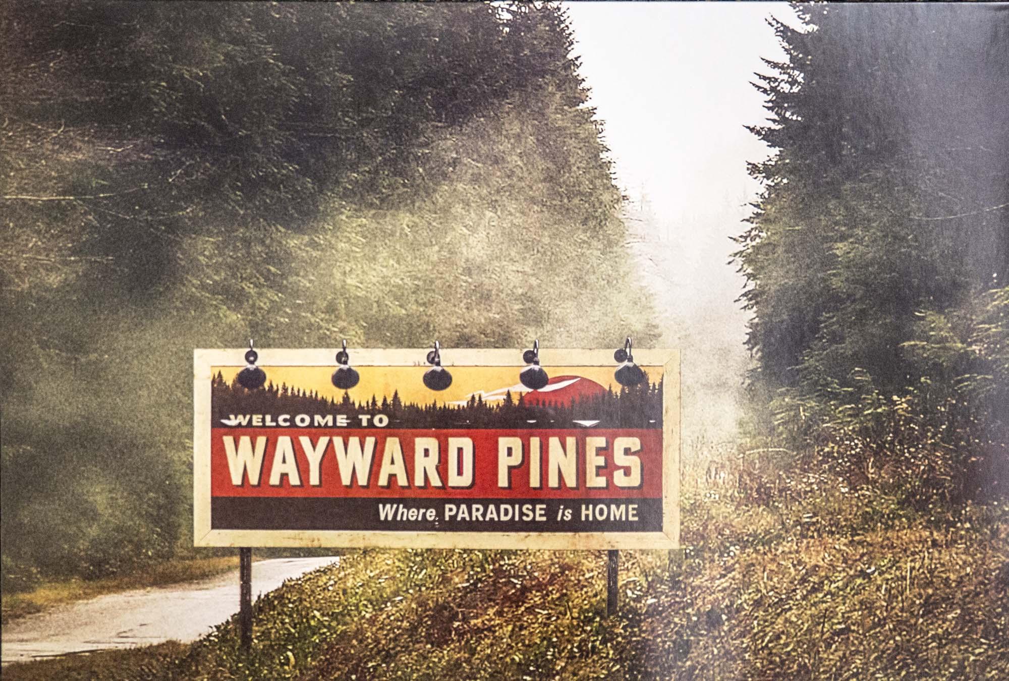 Wayward Pines: famosa immagine promozionale della serie
