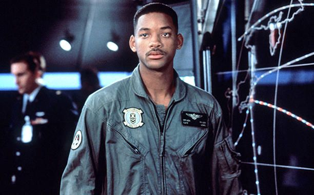 Independence Day: Will Smith in un'inquadratura del film