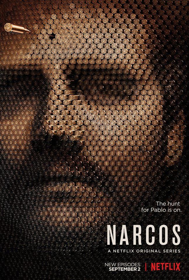 Narcos: il poster della seconda stagione