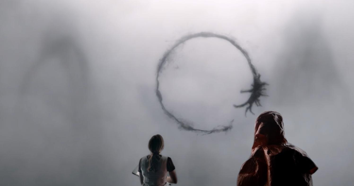 Arrival: una suggestiva immagine del film
