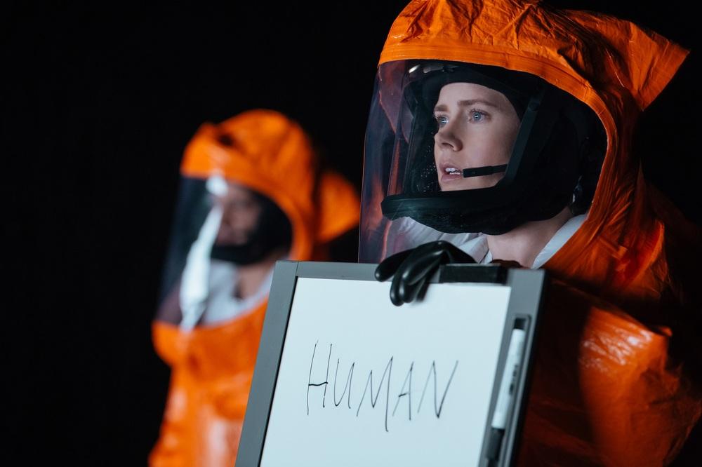 Arrival: Amy Adams in un momento del film