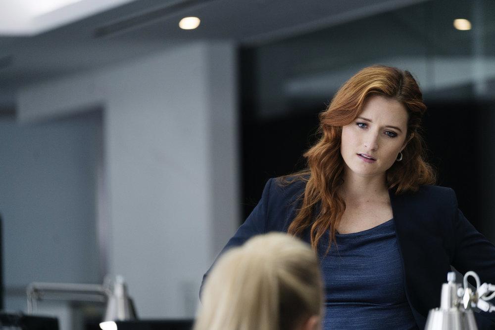 Mr. Robot: Grace Gummer in un'immagine del settimo episodio