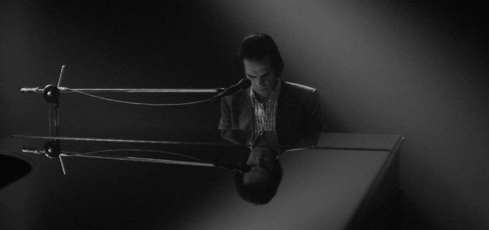 Cave & The Bad Seeds - One More Time With Feeling: Nick Cave in un'immagine del documentario