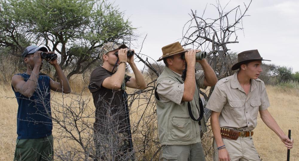 Safari: una scena del documentario