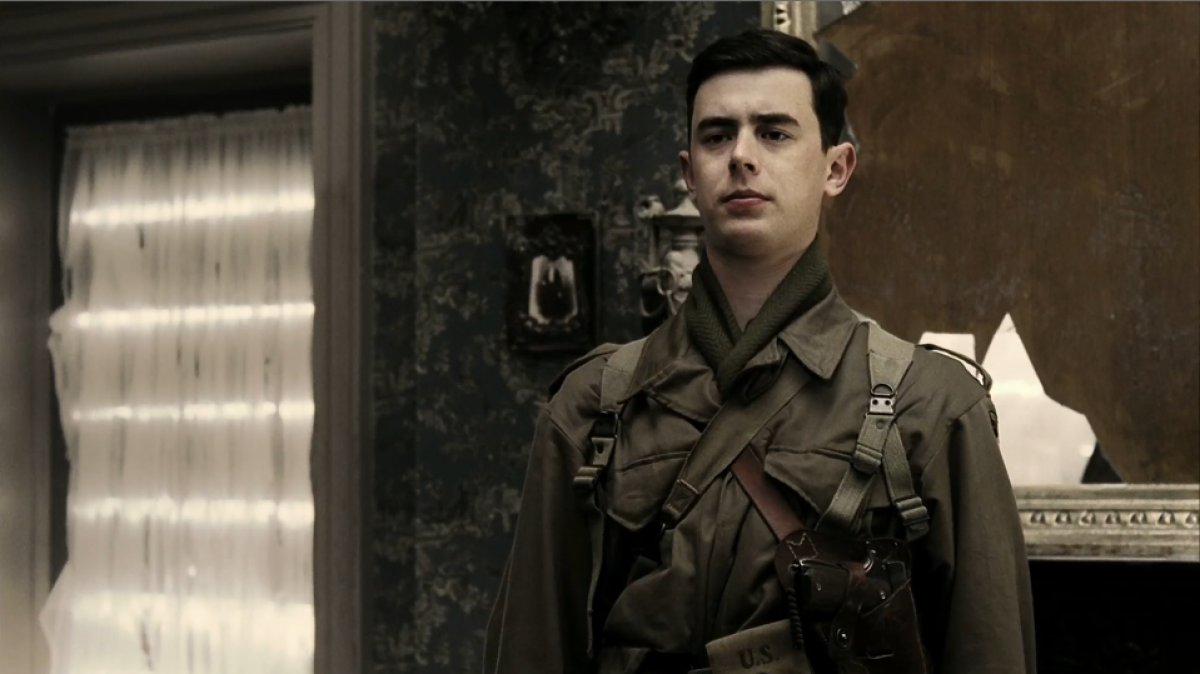 Band of Brothers: Colin Hanks  in una scena della serie
