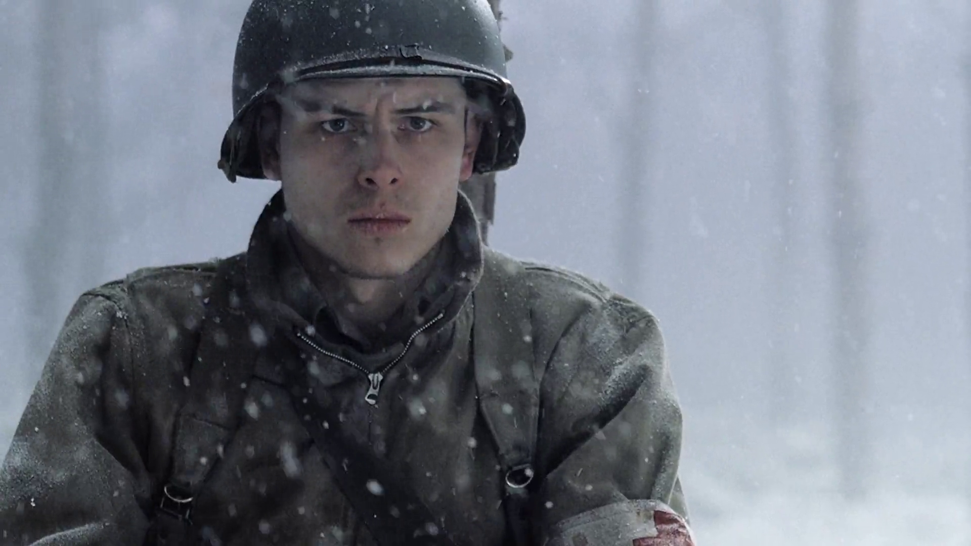 Band of Brothers:  una scena dell'episodio Bastogne con Shane Taylor