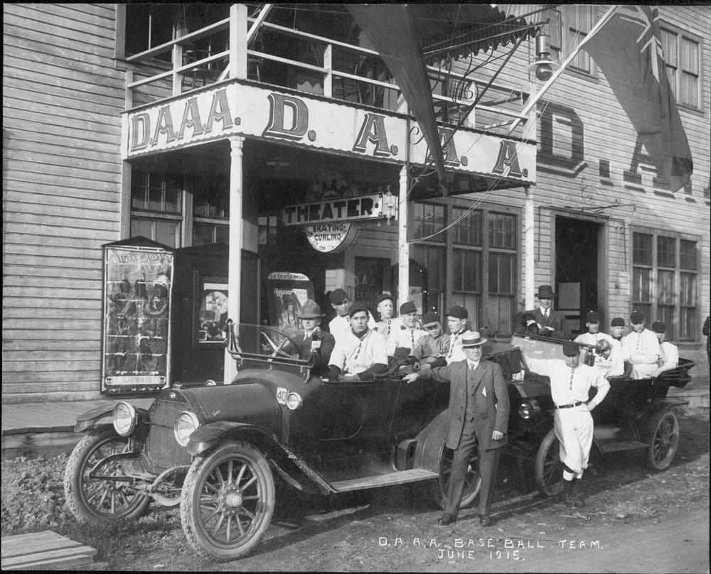 Dawson City: Frozen Time - un'immagine di repertorio tratta dal documentario