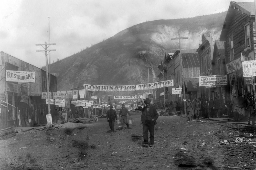 Dawson City: Frozen Time - un'immagine del documentario