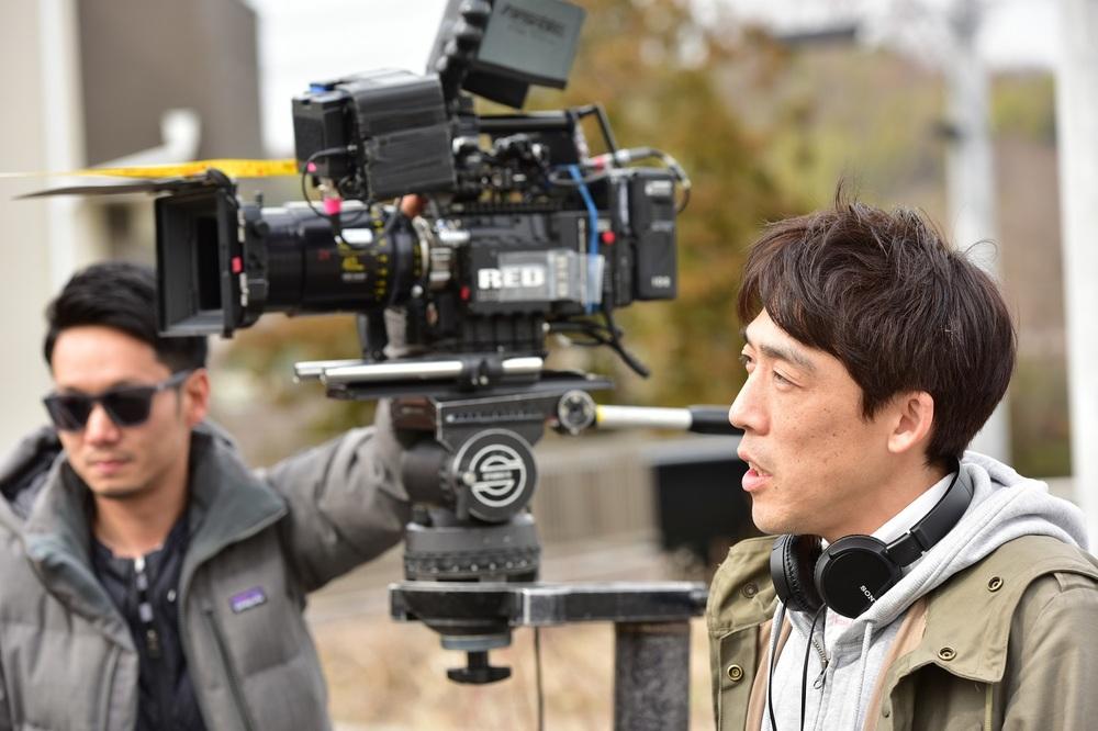 Gukôroku - Traces of Sin: il regista Kei Ishikawa al lavoro sul set del film