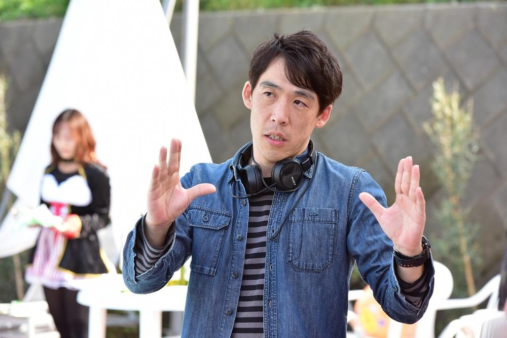 Gukôroku - Traces of Sin: il regista Kei Ishikawa sul set del film