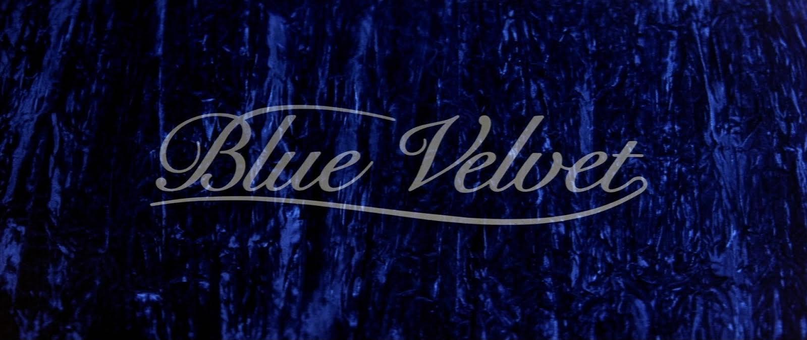Velluto blu di David Lynch