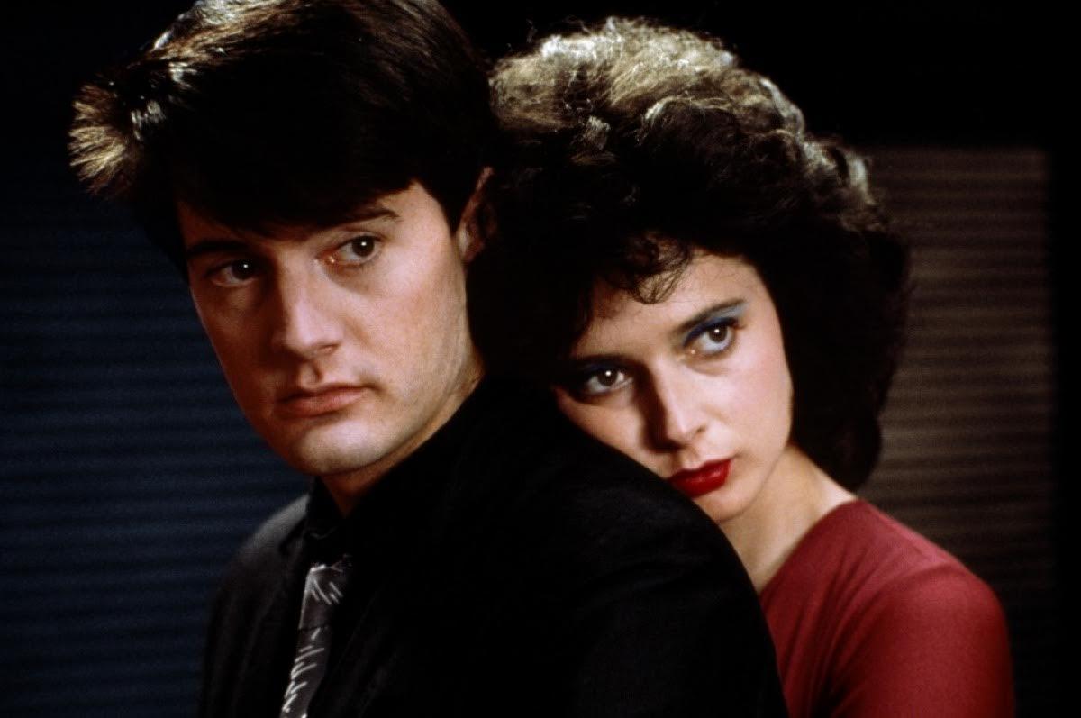 Velluto blu: una scena con Isabella Rossellini e Kyle MacLachlan