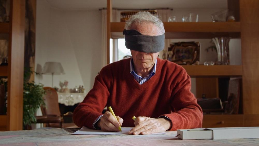 Bozzetto non troppo: Bruno Bozzetto in un'immagine del documentario a lui dedicato