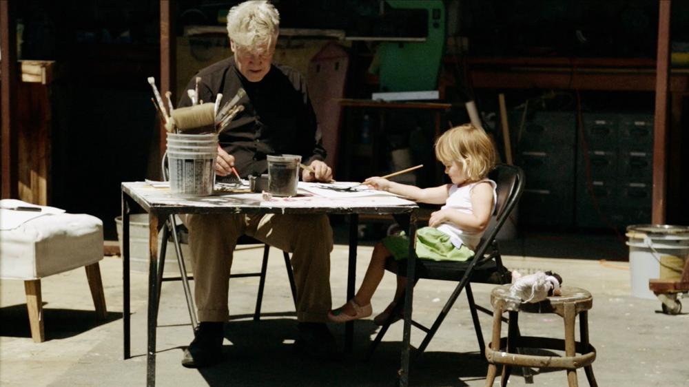 David Lynch: The Art Life, David Lynch in un momento del documentario