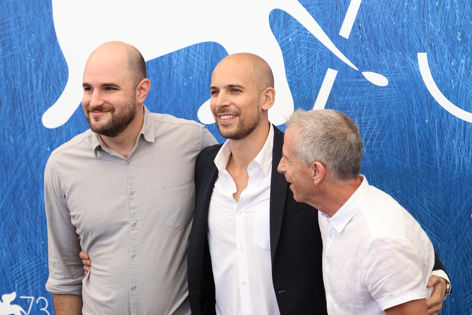 Venezia 2016: I produttori Fred Berger, Marc Platt e Jordan Horowitz al Photocall di La La Land