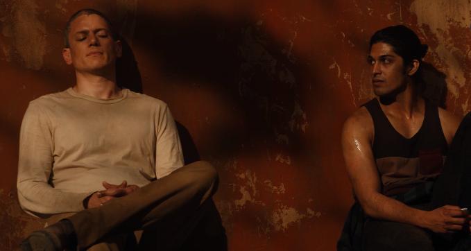 Prison Break: Sequel, Wentworth Miller in una scena