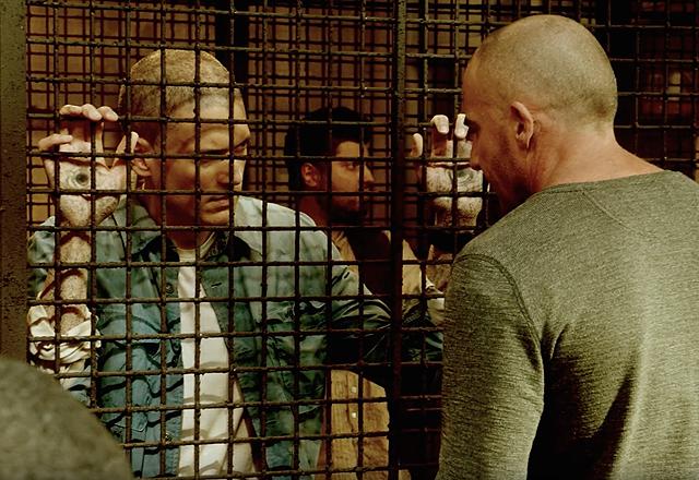 Prison Break: Sequel, Wentworth Miller e Dominic Purcell in una scena