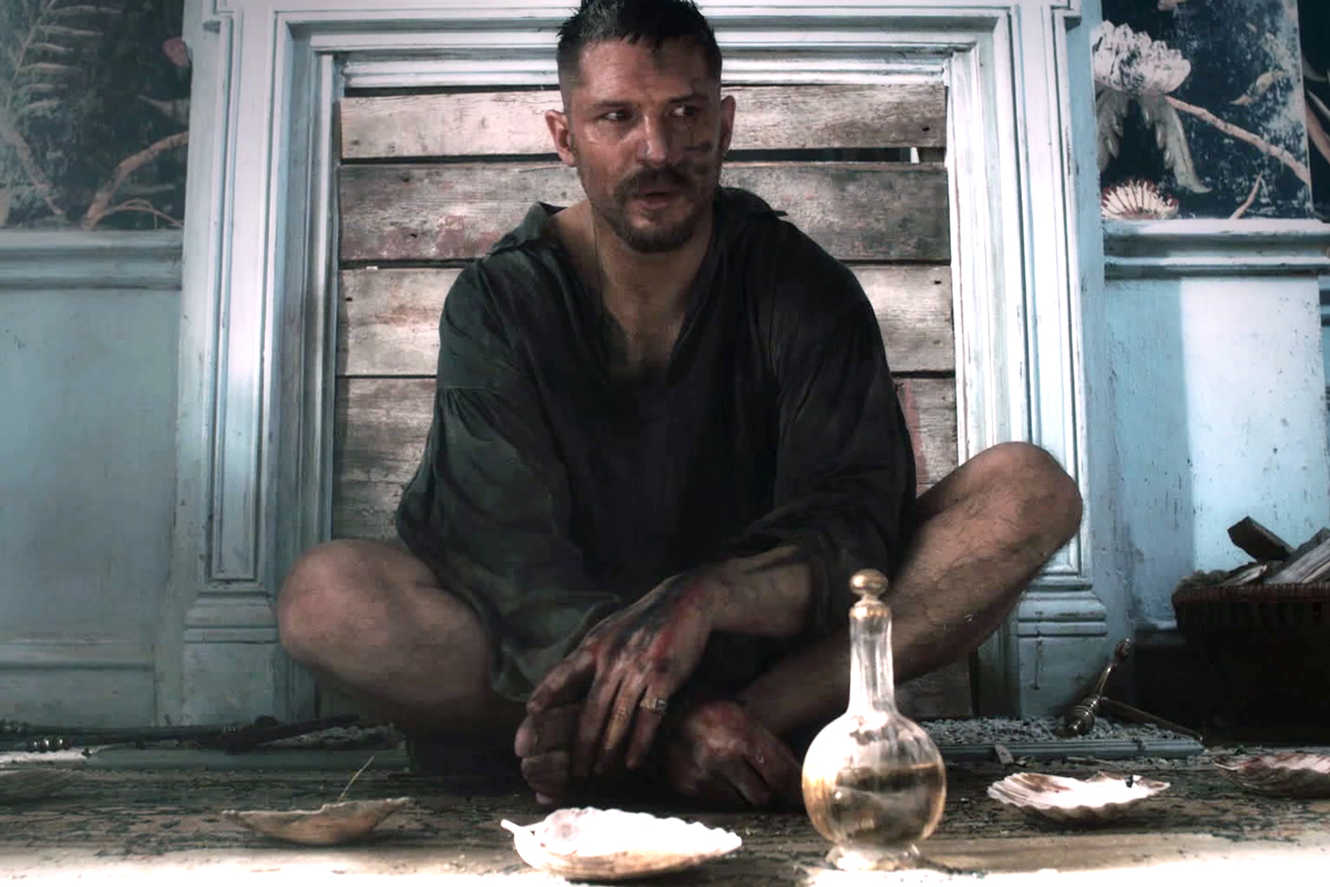 Taboo: Tom Hardy in una scena
