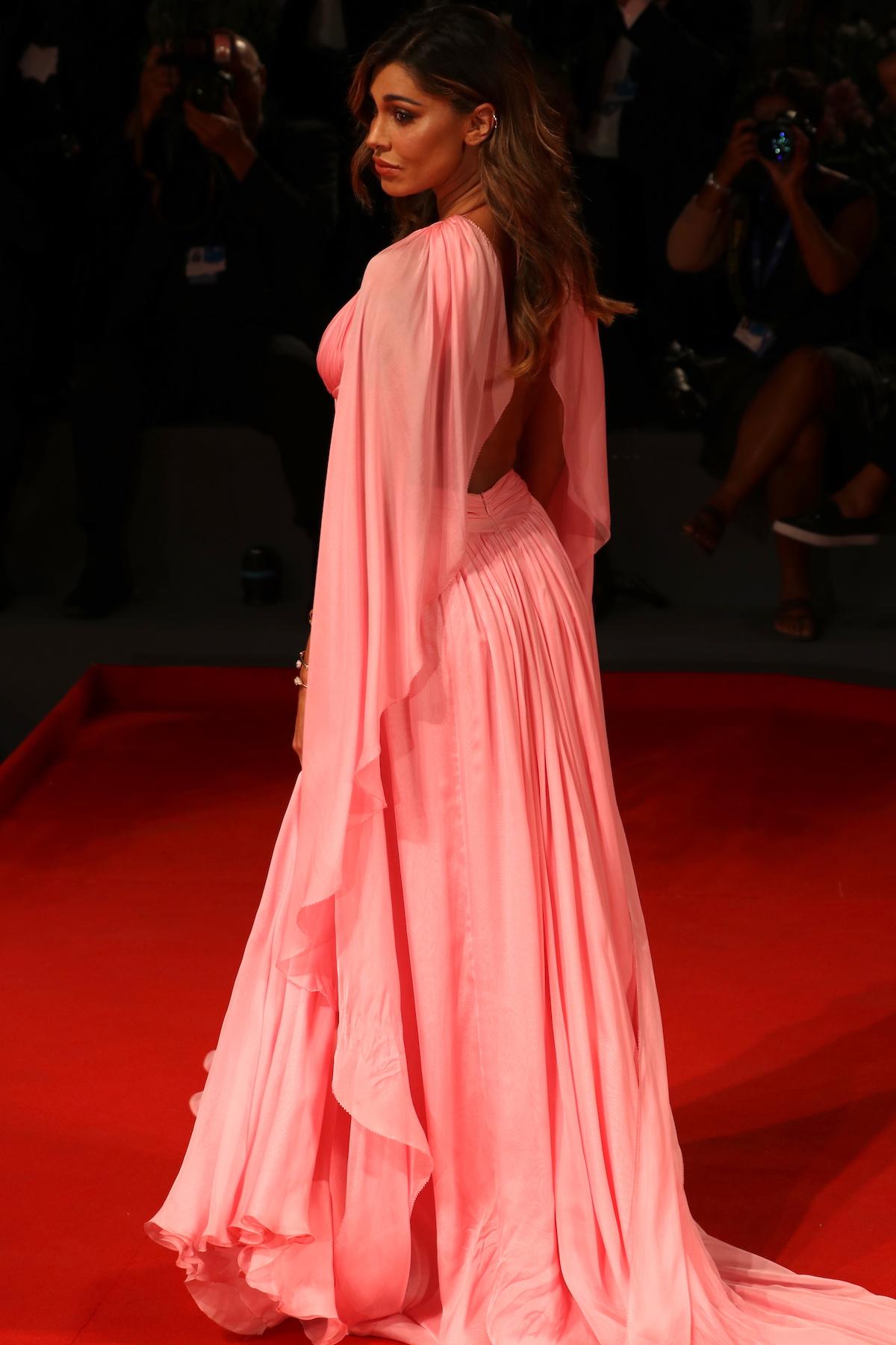 Venezia 2016: uno scatto di Belen sul red carpet di Arrival