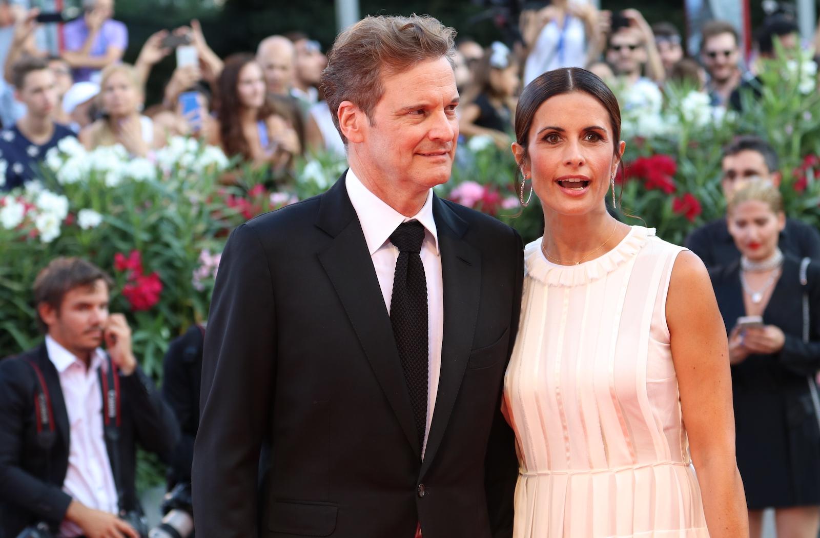 Venezia 2016: Colin Firth sul red carpet di Nocturnal Animals
