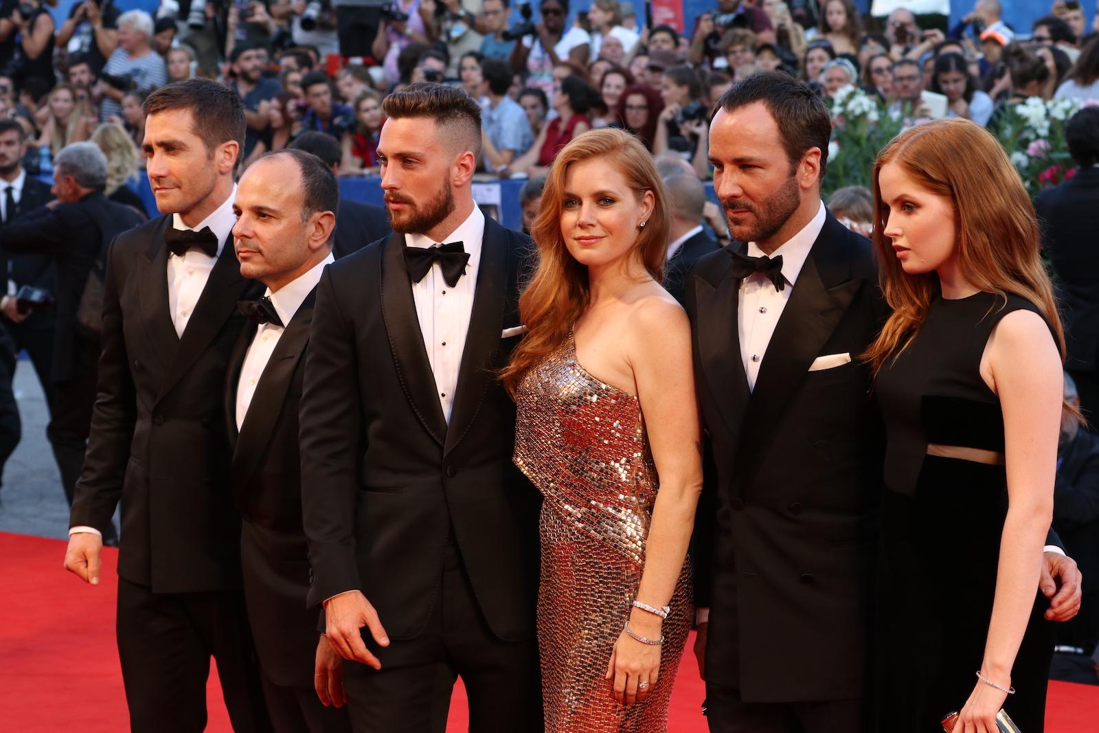 Venezia 2016: il cast di Nocturnal Animals sul red carpet