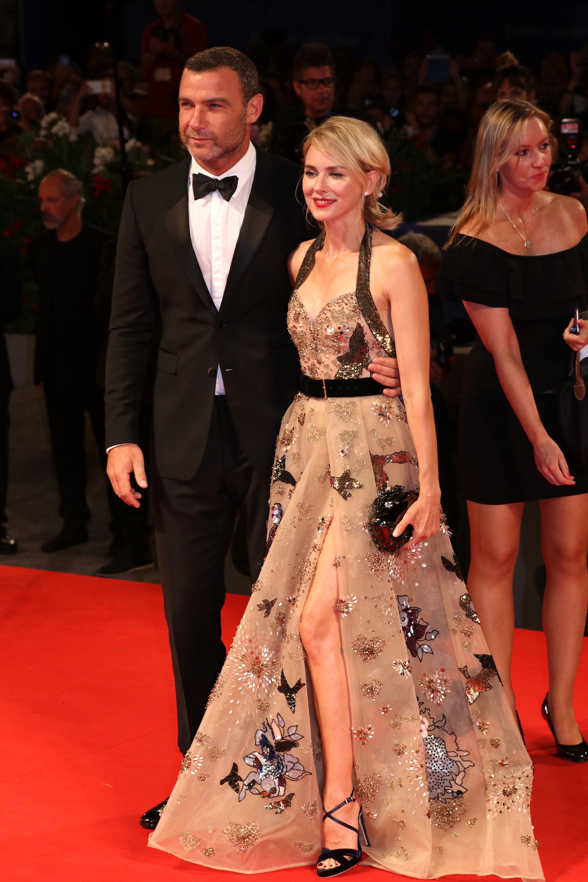 Venezia 2016: Liev Schreiber e Naomi Watts sul red carpet di The Bleeders