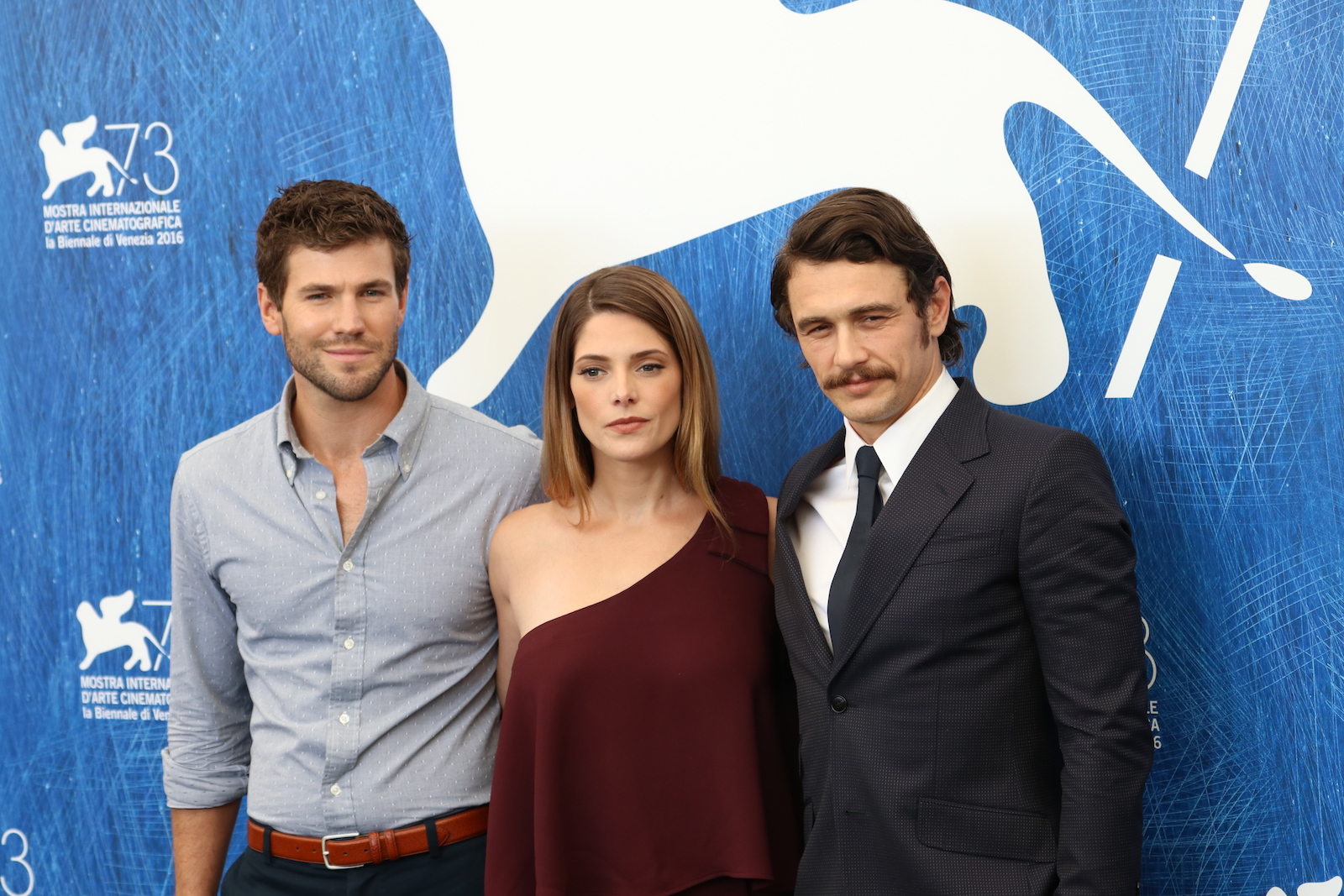Venezia 2016: James Franco, Ashley Greene e Austin Stowell al photocall di In Dubious Battle